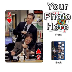 The Office Playing Cards By Mark C Petzold   Playing Cards 54 Designs   Qgfjuwr2izuf   Www Artscow Com Front - Heart5
