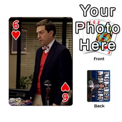 The Office Playing Cards By Mark C Petzold   Playing Cards 54 Designs   Qgfjuwr2izuf   Www Artscow Com Front - Heart6