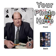 The Office Playing Cards By Mark C Petzold   Playing Cards 54 Designs   Qgfjuwr2izuf   Www Artscow Com Front - Spade4
