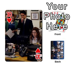 The Office Playing Cards By Mark C Petzold   Playing Cards 54 Designs   Qgfjuwr2izuf   Www Artscow Com Front - Heart10