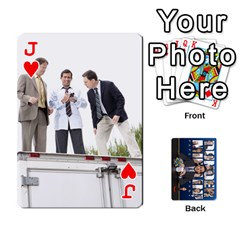 Jack The Office Playing Cards By Mark C Petzold   Playing Cards 54 Designs   Qgfjuwr2izuf   Www Artscow Com Front - HeartJ