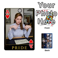 Ace The Office Playing Cards By Mark C Petzold   Playing Cards 54 Designs   Qgfjuwr2izuf   Www Artscow Com Front - HeartA
