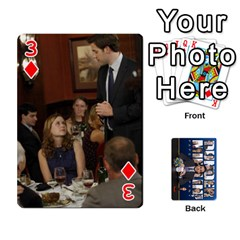 The Office Playing Cards By Mark C Petzold   Playing Cards 54 Designs   Qgfjuwr2izuf   Www Artscow Com Front - Diamond3