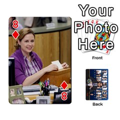 The Office Playing Cards By Mark C Petzold   Playing Cards 54 Designs   Qgfjuwr2izuf   Www Artscow Com Front - Diamond8