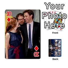 The Office Playing Cards By Mark C Petzold   Playing Cards 54 Designs   Qgfjuwr2izuf   Www Artscow Com Front - Diamond10
