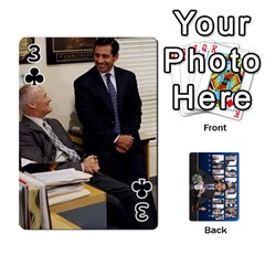 The Office Playing Cards By Mark C Petzold   Playing Cards 54 Designs   Qgfjuwr2izuf   Www Artscow Com Front - Club3