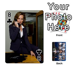 The Office Playing Cards By Mark C Petzold   Playing Cards 54 Designs   Qgfjuwr2izuf   Www Artscow Com Front - Club8