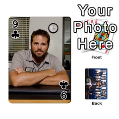 The Office Playing Cards By Mark C Petzold   Playing Cards 54 Designs   Qgfjuwr2izuf   Www Artscow Com Front - Club9