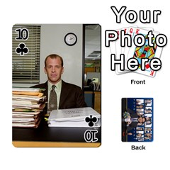 The Office Playing Cards By Mark C Petzold   Playing Cards 54 Designs   Qgfjuwr2izuf   Www Artscow Com Front - Club10