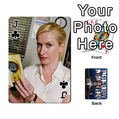 Jack The Office Playing Cards By Mark C Petzold   Playing Cards 54 Designs   Qgfjuwr2izuf   Www Artscow Com Front - ClubJ