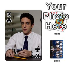 King The Office Playing Cards By Mark C Petzold   Playing Cards 54 Designs   Qgfjuwr2izuf   Www Artscow Com Front - ClubK