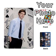The Office Playing Cards By Mark C Petzold   Playing Cards 54 Designs   Qgfjuwr2izuf   Www Artscow Com Front - Spade9