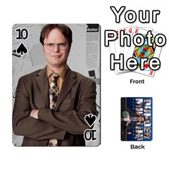 The Office Playing Cards By Mark C Petzold   Playing Cards 54 Designs   Qgfjuwr2izuf   Www Artscow Com Front - Spade10