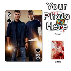 Supernatural Playing Cards By Leigh   Playing Cards 54 Designs   Nczfdibjb7rq   Www Artscow Com Front - Spade2