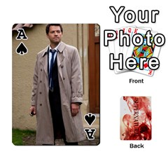 Ace Supernatural Playing Cards By Leigh   Playing Cards 54 Designs   Nczfdibjb7rq   Www Artscow Com Front - SpadeA
