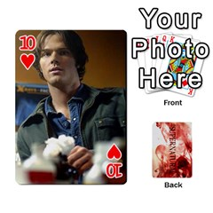 Supernatural Playing Cards By Leigh   Playing Cards 54 Designs   Nczfdibjb7rq   Www Artscow Com Front - Heart10