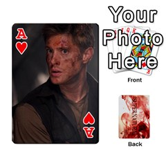 Ace Supernatural Playing Cards By Leigh   Playing Cards 54 Designs   Nczfdibjb7rq   Www Artscow Com Front - HeartA
