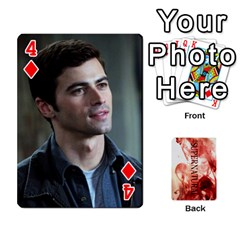 Supernatural Playing Cards By Leigh   Playing Cards 54 Designs   Nczfdibjb7rq   Www Artscow Com Front - Diamond4