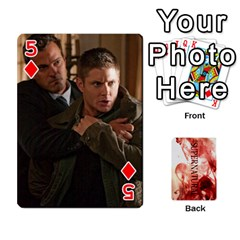 Supernatural Playing Cards By Leigh   Playing Cards 54 Designs   Nczfdibjb7rq   Www Artscow Com Front - Diamond5
