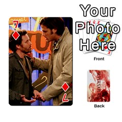 Supernatural Playing Cards By Leigh   Playing Cards 54 Designs   Nczfdibjb7rq   Www Artscow Com Front - Diamond7