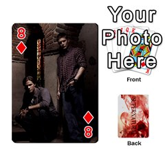 Supernatural Playing Cards By Leigh   Playing Cards 54 Designs   Nczfdibjb7rq   Www Artscow Com Front - Diamond8
