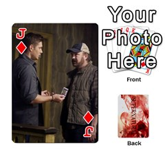 Jack Supernatural Playing Cards By Leigh   Playing Cards 54 Designs   Nczfdibjb7rq   Www Artscow Com Front - DiamondJ