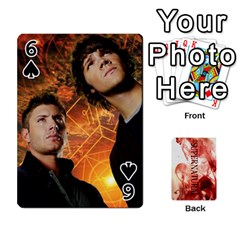 Supernatural Playing Cards By Leigh   Playing Cards 54 Designs   Nczfdibjb7rq   Www Artscow Com Front - Spade6