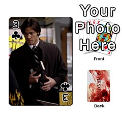 Supernatural Playing Cards By Leigh   Playing Cards 54 Designs   Nczfdibjb7rq   Www Artscow Com Front - Club3
