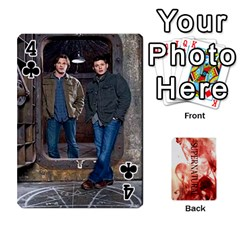 Supernatural Playing Cards By Leigh   Playing Cards 54 Designs   Nczfdibjb7rq   Www Artscow Com Front - Club4