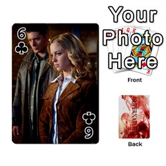 Supernatural Playing Cards By Leigh   Playing Cards 54 Designs   Nczfdibjb7rq   Www Artscow Com Front - Club6
