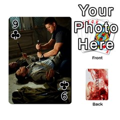 Supernatural Playing Cards By Leigh   Playing Cards 54 Designs   Nczfdibjb7rq   Www Artscow Com Front - Club9