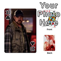 Supernatural Playing Cards By Leigh   Playing Cards 54 Designs   Nczfdibjb7rq   Www Artscow Com Front - Club10