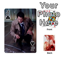 Jack Supernatural Playing Cards By Leigh   Playing Cards 54 Designs   Nczfdibjb7rq   Www Artscow Com Front - ClubJ