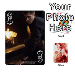 Queen Supernatural Playing Cards By Leigh   Playing Cards 54 Designs   Nczfdibjb7rq   Www Artscow Com Front - ClubQ