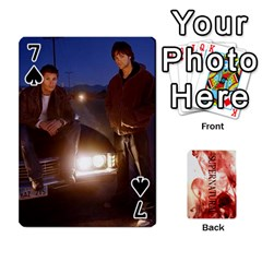 Supernatural Playing Cards By Leigh   Playing Cards 54 Designs   Nczfdibjb7rq   Www Artscow Com Front - Spade7