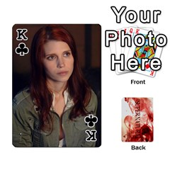 King Supernatural Playing Cards By Leigh   Playing Cards 54 Designs   Nczfdibjb7rq   Www Artscow Com Front - ClubK