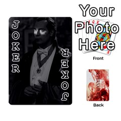 Supernatural Playing Cards By Leigh   Playing Cards 54 Designs   Nczfdibjb7rq   Www Artscow Com Front - Joker1