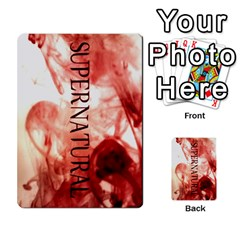 Supernatural Playing Cards By Leigh   Playing Cards 54 Designs   Nczfdibjb7rq   Www Artscow Com Back