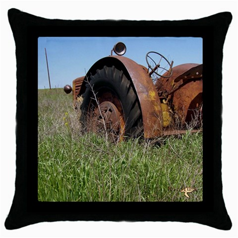 Reartractor By Amarilloyankee   Throw Pillow Case (black)   7dl83uyn76rc   Www Artscow Com Front