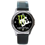 Monster Energy DC Round Metal Watch