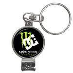 Monster Energy DC Nail Clippers Key Chain