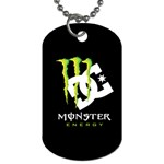 Monster Energy DC Dog Tag (One Side)