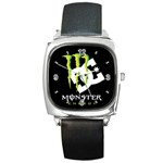 Monster Energy DC Square Metal Watch