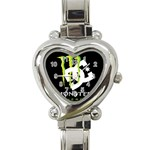 Monster Energy DC Heart Italian Charm Watch