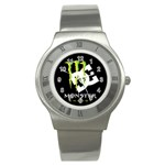 Monster Energy DC Stainless Steel Watch