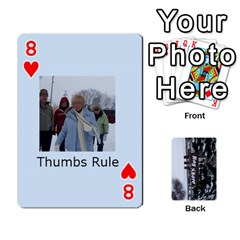 Kings Card Game  By Millie Kovatch   Playing Cards 54 Designs   8jltgzmziumx   Www Artscow Com Front - Heart8