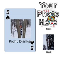 Kings Card Game  By Millie Kovatch   Playing Cards 54 Designs   8jltgzmziumx   Www Artscow Com Front - Spade5