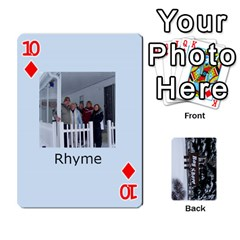 Kings Card Game  By Millie Kovatch   Playing Cards 54 Designs   8jltgzmziumx   Www Artscow Com Front - Diamond10