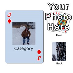 Jack Kings Card Game  By Millie Kovatch   Playing Cards 54 Designs   8jltgzmziumx   Www Artscow Com Front - DiamondJ