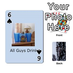 Kings Card Game  By Millie Kovatch   Playing Cards 54 Designs   8jltgzmziumx   Www Artscow Com Front - Spade6